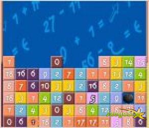 Juego  maths tetris