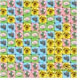 Juego  animal tetris