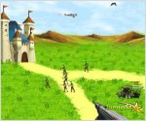 Juego  protect king castle proteja el castillo del rey