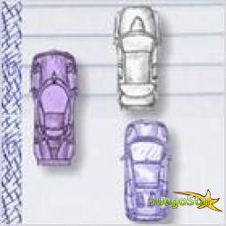 Juego  hand drawn car game dibujado a mano juego de coches