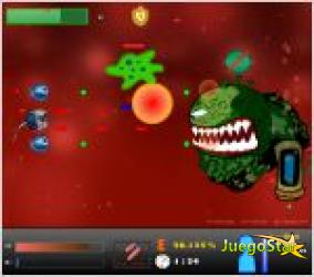 Juego  biotic defenders defensores bioticos