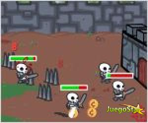 Juego  siege knight asedio caballero