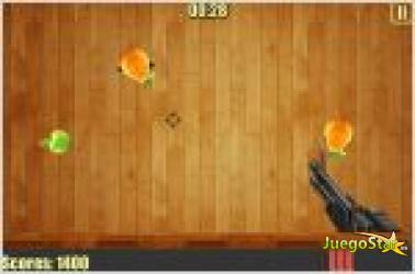 Juego  fruit sniper juego de francotirador revienta frutas