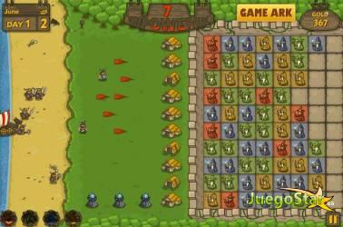 Juego  click battle batalla de clics