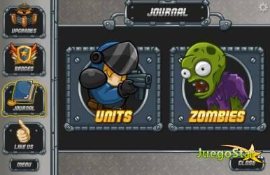 Juego  zombo buster proteger la ciudad de medan