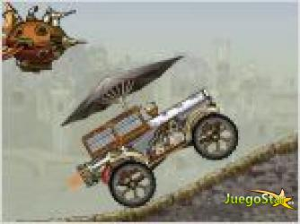 Juego  steampunk truck race vehiculo a vapor