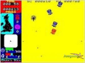 Juego  stans van un mundo de pixeles
