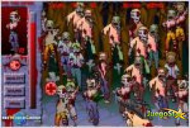 Juego  mata zombies ocultos