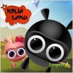 Juego  ninja land la tierra de los ninjas