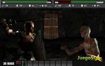 Juego  cursed dungeon aventura heroica