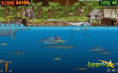 Juego prehistoric shark tiburon prehistorico