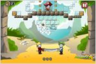 Juego  rescue the pirate rescata al pirata