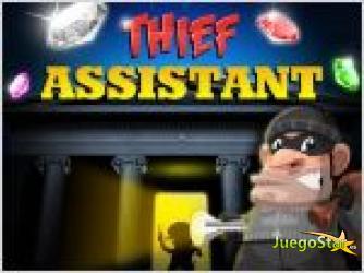 Juego  thief assistants ayudar al ladron