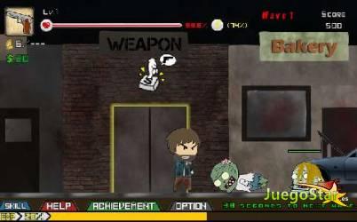 Juego  bro vs zombie bro contra los zombies