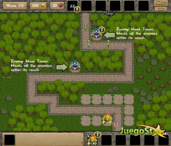 Juego  terra god defender el reino
