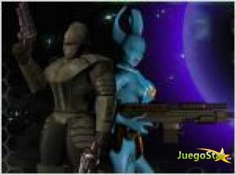 Juego  alien marauder salvar al alienigena