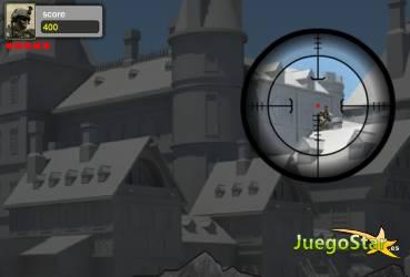 Juego  sniper team equipo de francotiradores