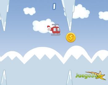 Juego  Chopper Run Manten el helicóptero en el aire