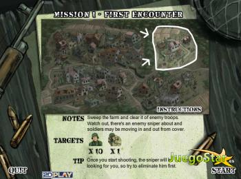 Juego  The sniper 2 el francotirador de la operación cobra