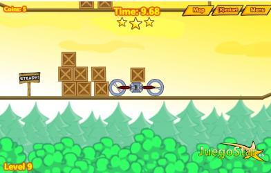 Juego  Physicar juego de habilidad y fuerzas fisicas