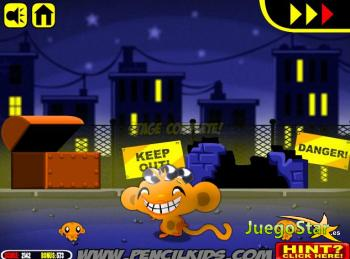 Juego  Monkey GO Happy Mayhem mono se feliz