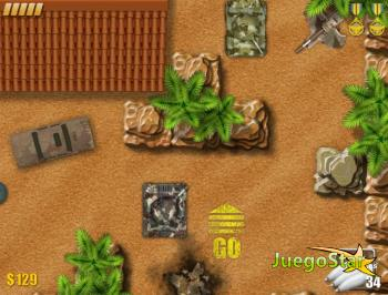 Juego  tanques de guerra Jackal Operation