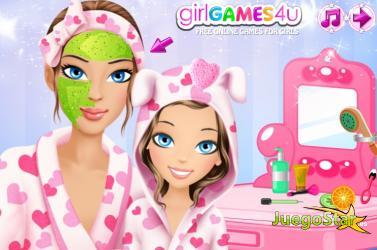 Juego  Maquillar a madre e hija