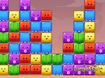 Juego Pop juego de puzzle de cubos de colores