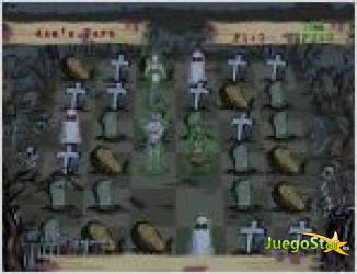 Juego chess muertos