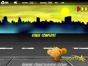 Juego Monkey GO