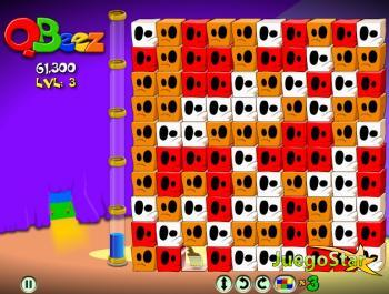 Juego  Qbeez Whirled el juego de los cubos multijugador