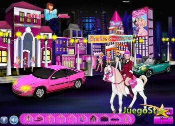 Juego  Beautiful Barbie Town la ciudad de barbie