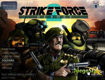 Juego  Strike Force Heroes 2