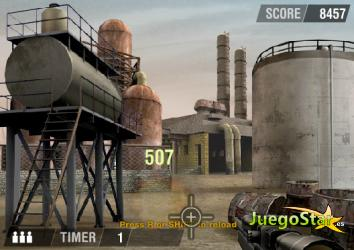 Juego  Hot Shot Sniper
