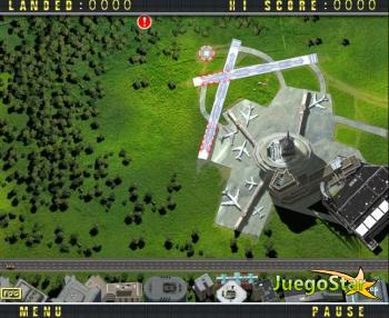 Juego  Controlador de tráfico aereo