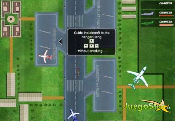 Juego Manejando el tráfico aereo