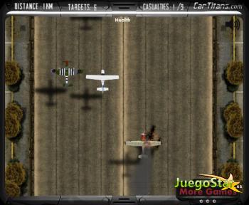 Juego  Venganza con el avión