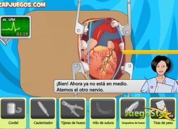Juego Operando el corazon