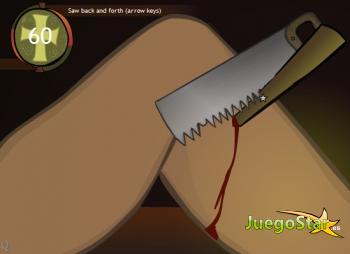 Juego Operando la pierna de un soldado