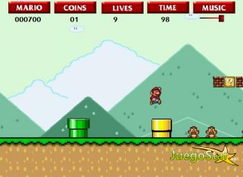 Juego Super Flash Mario Bros