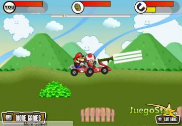 Juego Mario Bros en carrera
