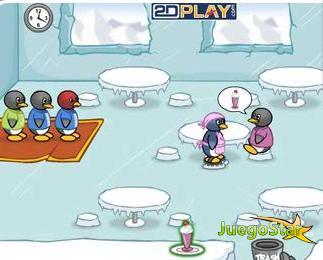 Juego  Comedor del pingüino