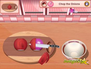 Juego Cocinando con Sara