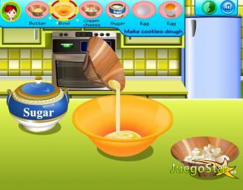 Juego Cocinando Galletas Con Sara Jugar Gratis Y Online