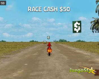 Juego Motocicletas sucias en carrera