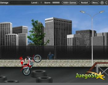 Juego Prueba en motocicleta 3