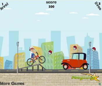 Juego Bicicletas en la ciudad
