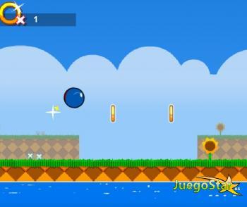 Juego Sonic Volador