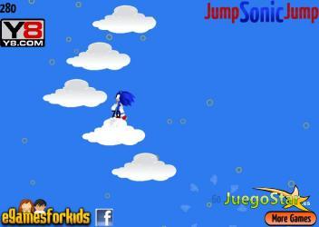 Juego  Salta Sonic salta