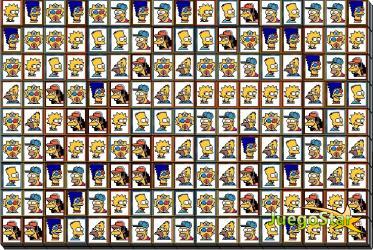 Juego Mahjong de los Simpsons